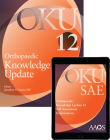 Orthopaedic Knowledge Update 12 Print and SAE Package Cover Image