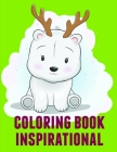 Coloring Book Inspirational: christmas coloring book adult for relaxation (Animal Kingdom #1) Cover Image