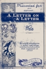 A Letter on A Letter: a discussion of intellectual freedom Cover Image