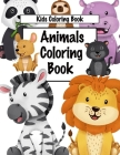 Animals Coloring Book Cover Image