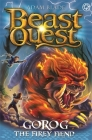 Beast Quest: Gorog the Fiery Fiend: Series 27 Book 1 Cover Image