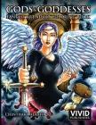 Gods & Goddesses - Fantasy Art Adult Coloring Book Cover Image