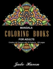 Mandala Coloring Books for Adults: Stress Relieving Patterns - Stress Relieving Designs - relaxation coloring books - book for beginners - para adulto Cover Image