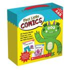 First Little Comics Parent Pack: Levels A & B: 20 Funny Books That Are Just the Right Level for New Readers Cover Image
