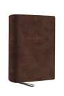 The Net, Abide Bible, Leathersoft, Brown, Comfort Print: Holy Bible Cover Image