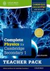 Complete Physics for Cambridge Secondary 1 Teacher Pack: For Cambridge Checkpoint and Beyond Cover Image