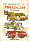 Shiny Fire Engines Stickers Cover Image