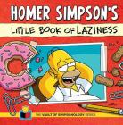Homer Simpson's Little Book of Laziness (The Vault of SimpsonologyTM) Cover Image