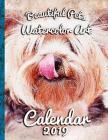 Beautiful Pets Watercolor Art: Calendar 2019 Cover Image