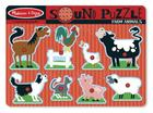 Farm Animals Sound Puzzle [With Battery] Cover Image