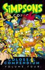 Simpsons Comics Colossal Compendium Volume 4 Cover Image