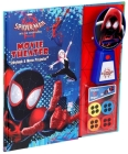 Marvel Spider-Man: Into the Spider-Verse Movie Theater Storybook Cover Image