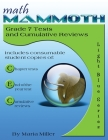 Math Mammoth Grade 7 Tests and Cumulative Reviews Cover Image