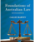 Foundations of Australian Law Cover Image