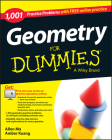 Geometry: 1,001 Practice Problems for Dummies (+ Free Online Practice) Cover Image