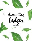 Accounting Ledger for Business (8x10 Softcover Log Book / Tracker / Planner) Cover Image