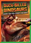 Duck-Billed Dinosaurs: Ranking Their Speed, Strength, and Smarts (Dinosaurs by Design) Cover Image