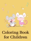 Coloring Book for Children: Funny Christmas Book for special occasion age 2-5 Cover Image
