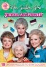Golden Girls Sticker Art Puzzles Cover Image