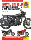 Royal Enfield 500 Bullet / Classic & 535 Continental GT Haynes Service & Repair Manual: '09 to '18 Cover Image