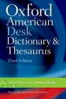 Oxford American Desk Dictionary and Thesaurus Cover Image