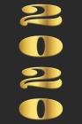 Gold 2020 Pocket Calendar: Pocket Calendar, Taschenkalender, calendrier de poche, calendario de bolsillo, calendario tascabile for 2020 Cover Image