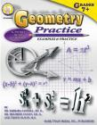 Geometry Practice Book, Grades 7 - 8 Cover Image