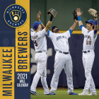 Milwaukee Brewers 2021 12x12 Team Wall Calendar Cover Image