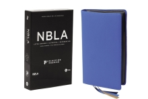Nbla Biblia Ultrafina, Letra Grande, Colección Premier, Azul: Edición Limitada Cover Image