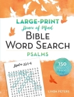 Peace of Mind Bible Word Search: Psalms Cover Image