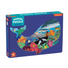 Ocean Life 300 Piece Shaped Scene Puzzle Cover Image