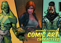 Beginner's Guide to Comic Art: Characters Cover Image