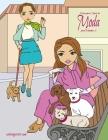 Livro para Colorir de Moda para Meninas 2 Cover Image