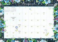 Katie Daisy 2020-2021 Desk Pad Calendar Cover Image