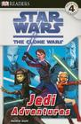 DK Readers L4: Star Wars: The Clone Wars: Jedi Adventures (DK Readers Level 4) Cover Image