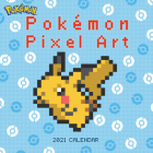 Pokémon Pixel Art Retro 2021 Wall Calendar Cover Image
