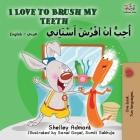 I Love to Brush My Teeth (English Arabic Bilingual Book) (English Arabic Bilingual Collection) Cover Image