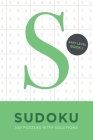 Sudoku 100 Puzzles with Solutions. Easy Level Book 1 Cover Image