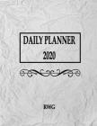 Daily Planner 2020: 8.5