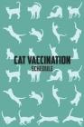 Cat Vaccination Schedule: Brilliant Cat Vaccination Record Book Cat Immunization Schedule Cover Image