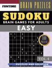 SUDOKU Easy: Jumbo 300 Easy Sudoku With Answers Brain Games For Adults Activities Book Sudoku For Seniors (sudoku Book Easy Vol.4) Cover Image