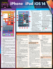 iPhone & iPad IOS 14: A Quickstudy Laminated Reference Guide Cover Image