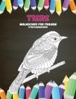 Malbücher für Frauen - Stressabbauend - Tiere Cover Image