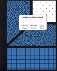 Graph Paper Notebook Quad Ruled 5x5: Chemistry and Science - Composition Notebook for Girls Boys Students - cute Notebook for College School - Geometr Cover Image