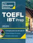 Princeton Review TOEFL iBT Prep with Audio CD, 2020: Practice Test + Audio CD + Strategies & Review (College Test Preparation) Cover Image