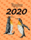 Tagesplaner 2020: Pinguin - Ein Tag ein Blatt - A4 Format Cover Image