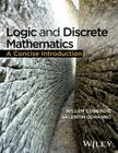 Logic and Discrete Mathematics: A Concise Introduction Cover Image