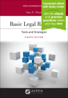 Basic Legal Research: Tools and Strategies [Connected eBook with Study Center] (Aspen Coursebook) Cover Image