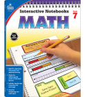 Math, Grade 7 (Interactive Notebooks) Cover Image