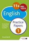 11+ English Practice Papers 1 Cover Image